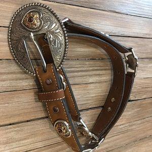 Nocona Ladies Leather Belt